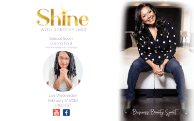 SHINE with Special Guest Justina Ford
