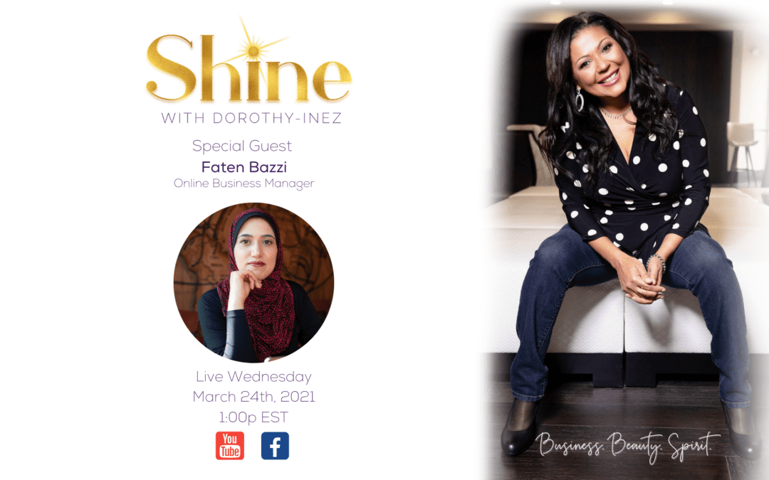 SHINE with Special Guest Faten Bazzi