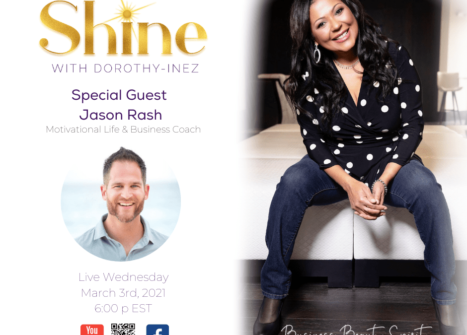 SHINE with Special Guest Jason Rash