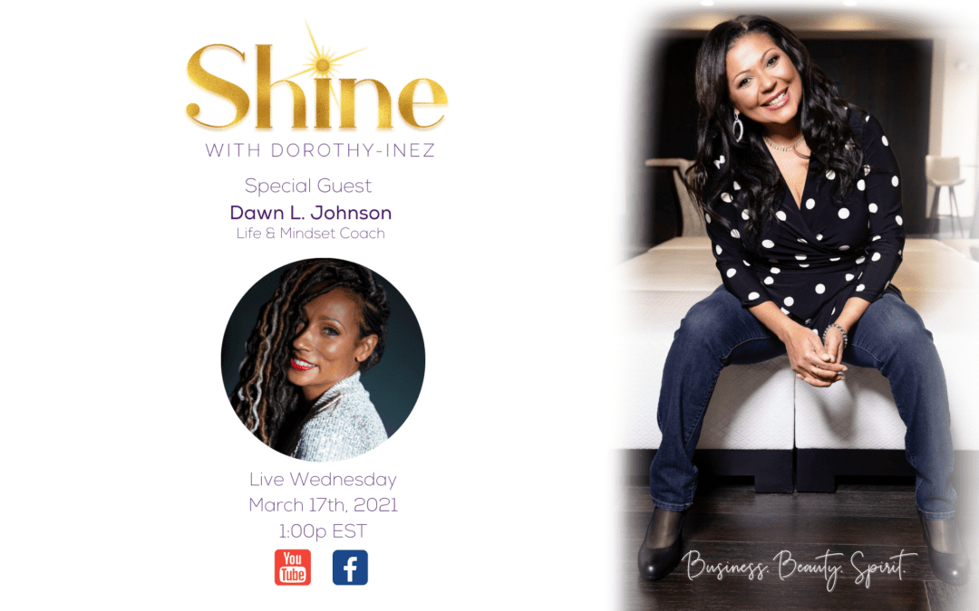 SHINE with Special Guest Dawn L. Johnson
